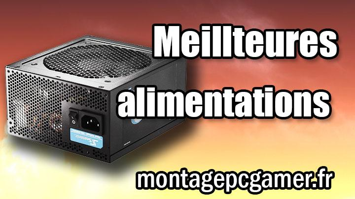 alimentation pc gamer